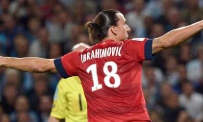L1 (J8) : Ibrahimovic dans l'équipe-type !