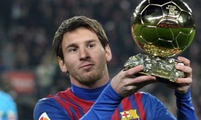 Les 3 finalistes du Ballon d'Or 2012 sont connus !