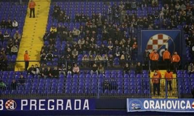 Pas de supporters de Zagreb au Parc