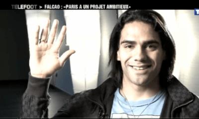 Video : Falcao : « Le PSG a un projet ambitieux »