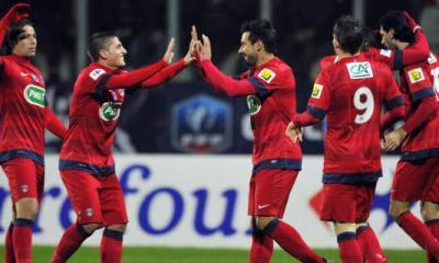 CdF: Paris se qualifie dans la douleur pour les 16e