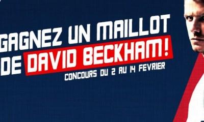 Concours Beckham : Découvrez les résultats