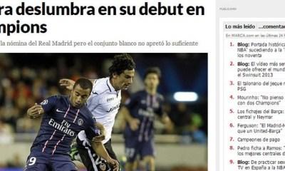 Lucas et le PSG ont impressionné l'Espagne