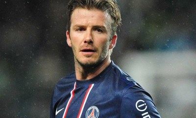 La sublime carrière de Beckham en images
