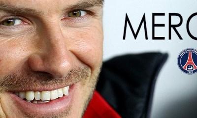 David Beckham a décidé de prendre sa retraite !