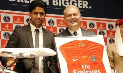 Officiel : nouveau partenariat PSG - Fly Emirates
