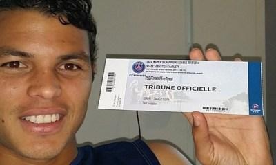 Thiago Silva à Charléty pour supporter les féminines