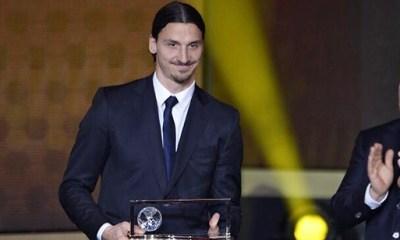 Puskas - Ibrahimovic : « Je suis très fier d'avoir remporté ce prix »
