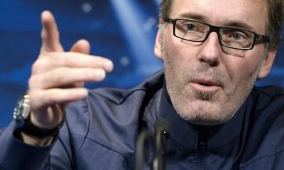 Laurent Blanc s'amuse de la curiosité des journalistes