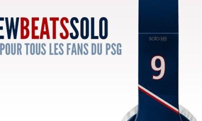Un casque Beats aux couleurs du PSG