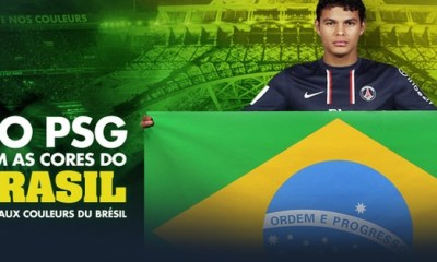 Le PSG, un club apprécié des brésiliens