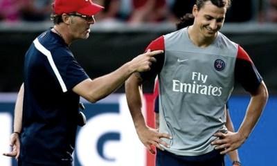 """Blanc : Ibrahimovic """"Un des meilleurs que j'ai vus et certainement le meilleur que j'ai entraîné"""""""