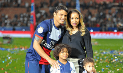 La femme de Thiago Silva s'est prise en photo avec Ronaldo