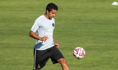 Marquinhos de retour à l'entraînement !