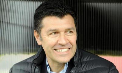 Hubert Fournier félicite Laurent Blanc