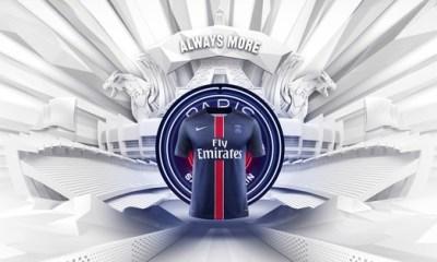PSG - Le nouveau logo sur les maillots