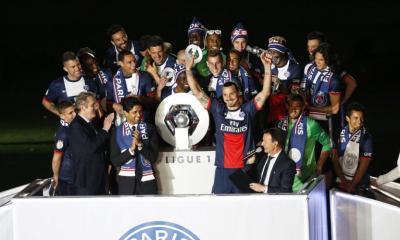 PSG Champions triplé historique