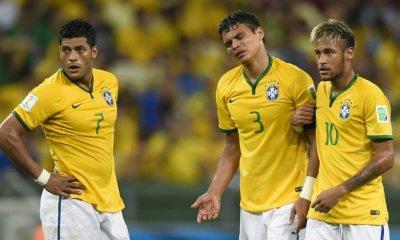 Copa America - Le Brésil chute en quart, Thiago Silva un peu coupable