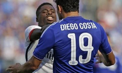 Aurier revient sur son duel houleux avec Diego Costa