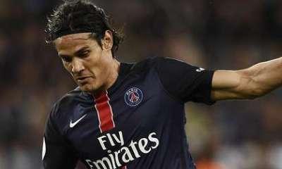 Ligue 1 - Cavani avoue un manque de réussite en 1ere et remercie les passeurs pour son doublé