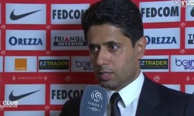 Nasser Al-Khelaïfi: «Je suis très heureux de la qualité du jeu»