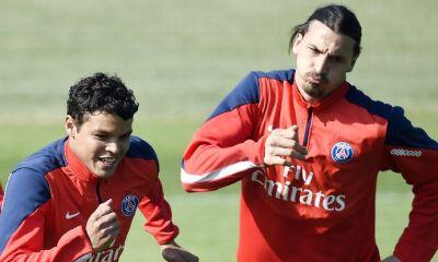 """Thiago Silva évoque le futur d'Ibrahimovic, """"pour moi, il peut encore jouer"""" et le mercato du PSG"""