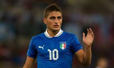 Marco Verratti, numéro 10 de la sélection italienne