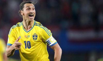 La Suède s'impose 2-1 face au Danemak, Ibrahimovic en forme et buteur