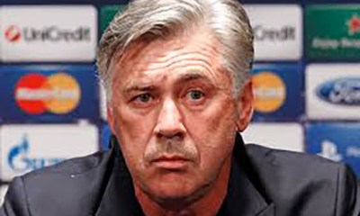Pas de contacts entre Ancelotti et Liverpool