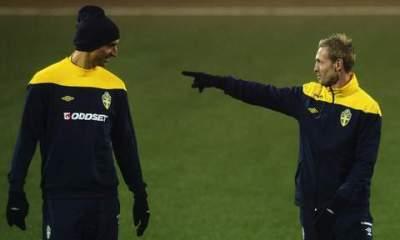 """Wilhelmson """"Zlatan a arrêté les choses stupides"""", """"il a une autorité naturelle"""""""