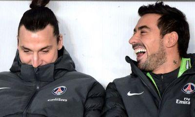 Zlatan Ibrahimovic «Un départ de Lavezzi ? Non, j'ai besoin de lui ici»