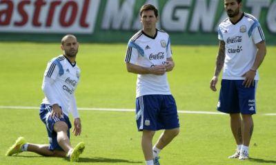 Mercato - Mascherano et Messi voudraient Lavezzi à Barcelone