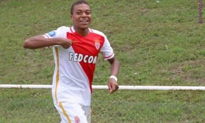 Le PSG garde un oeil sur Mbappé, plus jeune buteur de l'histoire de l'ASM ce week-end