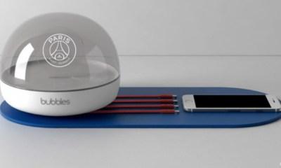 """La """"Bubble Home"""" le nouvel objet connecté du Paris Saint-Germain"""