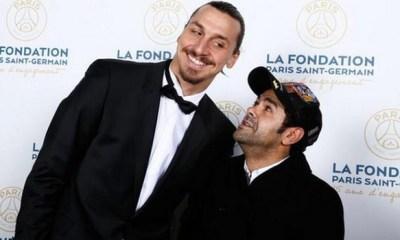 """Jamel Debbouze """"aucun comédien ne peut se vanter de faire ce que Zlatan fait"""""""