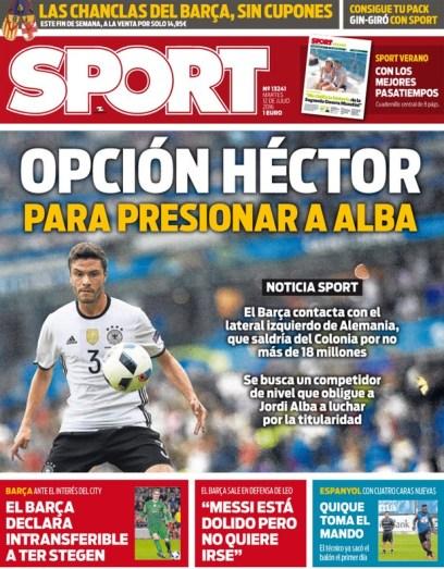Mercato - Le FC Barcelone pense aussi à Jonas Héctor, un prix proche de Lucas Digne