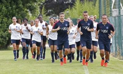 Les féminines du PSG ont repris l'entraînement aujourd'hui
