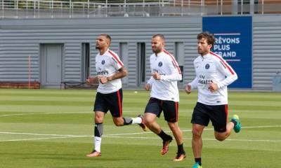 Les images partagées par les joueurs du PSG ce lundi: bienvenue Jesé!