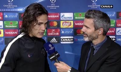 """LUDOGORETS/PSG Cavani: """"Je ne me sens qu'un joueur de l'équipe et c'est ce que tout le monde a besoin de ressentir"""""""