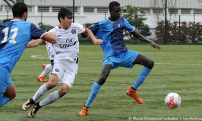 Les U17 s'inclinent face au Havre 2-1