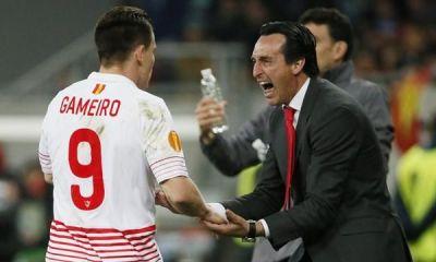 """EDF - Gameiro a reçu un message d'Unai Emery """"il était content pour moi"""""""