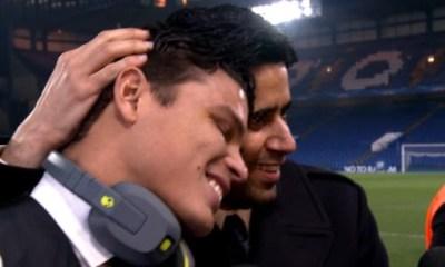 Nasser Al-Khelaïfi «Depuis son arrivée, Thiago Silva marque avec force l'histoire du Paris Saint-Germain»