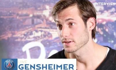 """Gensheimer """"Avec Trapp on s'écrit très régulièrement...je l'ai un peu questionné"""""""