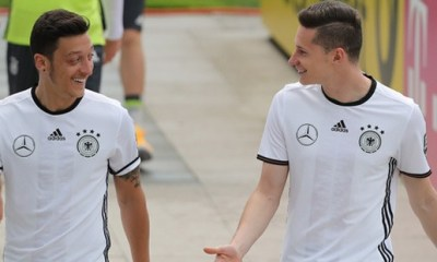 Draxler : Ozil «j'adorerais jouer avec lui au PSG»