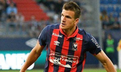 PSG/Caen - Le club normand devra certainement faire avec 4 absences, dont Ivan Santini