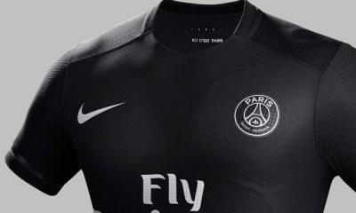 De nouvelles images du maillot third du PSG sur 2017-2018, le noir se confirme