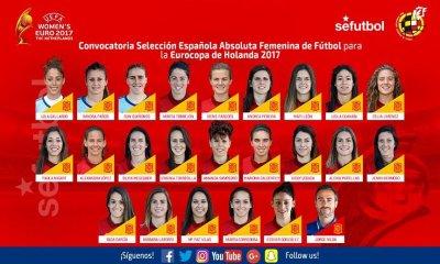 Féminines - Vero Boquete non sélectionnée par Espagne pour l'Euro 2017, Paredes si