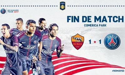 AS Rome/PSG - Paris s'impose aux tirs au but après un match nul encourageant : le résumé