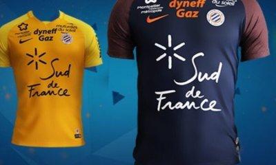 Ligue 1 - Les maillots de Montpellier ressemblent sans doute un peu trop à ceux du PSG