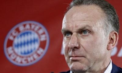 """Karl-Heinz Rummenigge, mécontent du transfert de Neymar, s'en prend aux """"politiques"""""""